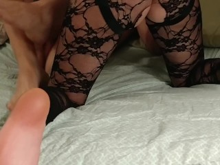 Wife Rides Face and Hard Dick