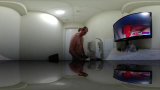 Fertility Tests for Men Giving sperm Sample Webcam masturbation