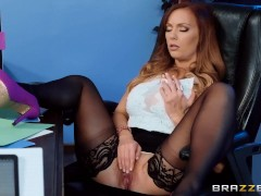 She's Underpaid but she's gonna get a dick bonus - Brazzers