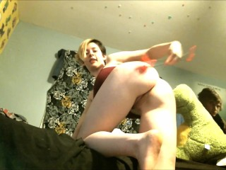 Naughty Pixxxie Punishes Herself For Daddy