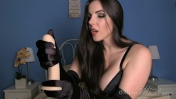 Black Satin JOI