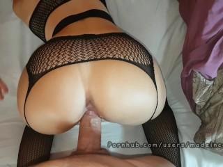 Made In Canarias - Ado portant de la lingerie a de multiples orgasmes