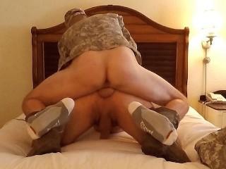 Anonymous Marine Hotel Bareback Pump N Dump, Hidden Breeding College Boots