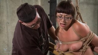 Nyssa Nevers Extreme BDSM Punishement - The Bamboo Prison porno