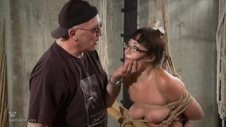 Nyssa Nevers Extreme BDSM Punishement - The Bamboo Prison Teen kinky