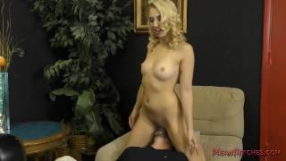 Brat Sierra Nicole Sells Her Panties and Makes Him Worship Her Ass - Femdom