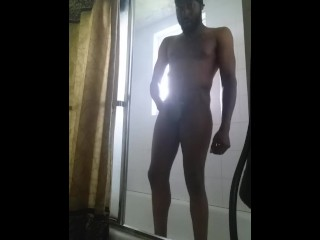 Am Shower and Cum 1