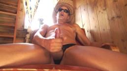 SexyExhibitionist STR8 Talking Dirty & Masturbating Cumshots Compilation
