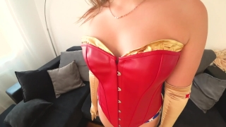 Wonder Woman with big ass fucked Blowjob harley