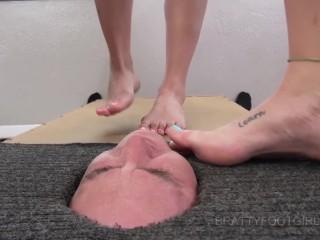 Facebox Foot gagging 2 tyfootgirls.com