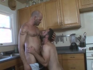 Plumber dave rex cleans anthony naxos pipes with...