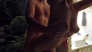 Strokes Challenge - From behind by Claudia Class Big boobs