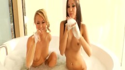 Lesbian Sisters Explore Their Lust