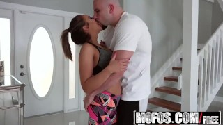 Mofos - Big Titty Neighbor Loves Dick starring Layla London  point of view rim job ass teen mofos mofosnetwork amateur blowjob tattoo pov big dick young brunette reality teenager bubble butt
