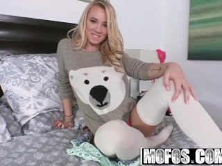 Mofos - Cutie in Stockings Gets Railed starring Bailey Brooke