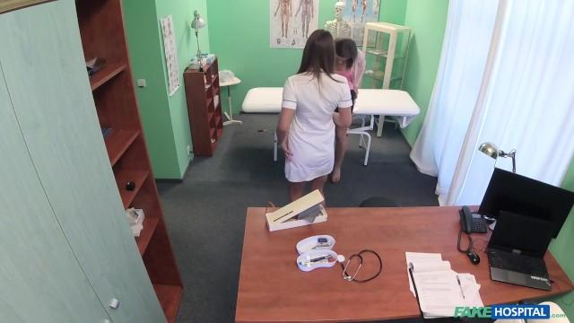 Nurse enjoys some lesbian sex with her patient Valerie Fox 4