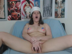 Independence Day Striptease and Finger