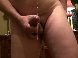Such a big thick cum shot, right at you