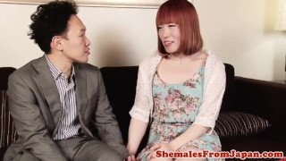 Dude japanese lucky assfucking newhalf nippleplay shemale