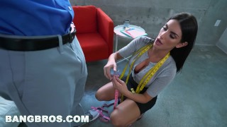 BANGBROS - August Ames to Please on Monsters of Cock (mc16000) Anal tits