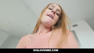SisLovesMe - Horny step Sis Has A Fat Ass  step siblings big ass step bro point of view family booty redhead blonde small tits pov butt sislovesme cream pie step brother daisy stone step sister