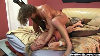 RealMomExposed Chelsea Zinn's Throat Gets Fucked By Her Master