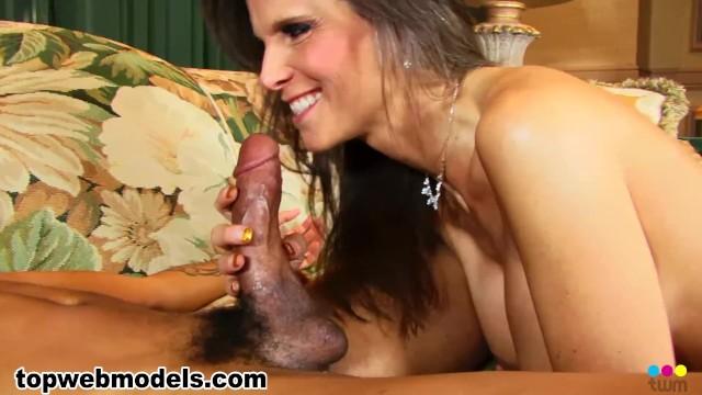 Busty Big Tits MILF Cougar SYREN DE MER Fucked by BBC Big Black Cock! A+ 5