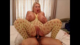 I fuck masked guy and take his cum all over my huge tits -  TheCamBoss.net