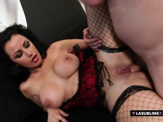 Asia morante and the big boobs italian...
