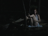 Fucking A Dildo Outdoors At Night   better porn: freckledred.manyvids.com
