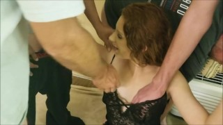 Aleigha James Blows 4 Fans for Fun