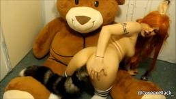 Fox Girl Huge Buttplug - Furry - Kitsune