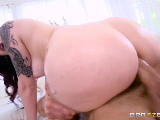 Big Tit Redhead Gets Anal – Brazzers