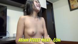 Moaning Bangkok Ass Fucker With Glasses