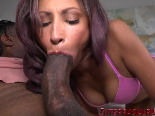 Teen ebony first anal