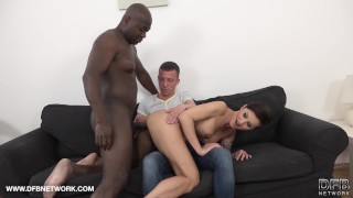 And husband can't cum short hair get wife her ass anal eat from lets enough interracial wife
