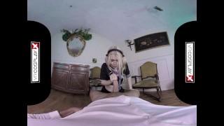 VR Fucking With Schoolgirl Misha Cross on VRCosplayX.com