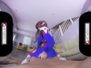 VR Cosplay X Wild Sex With Lusty Megan Rain VR Porn