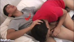 Hot Twink Gets Ass Licked And Fucked