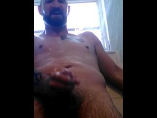 #28 jerking in shower again