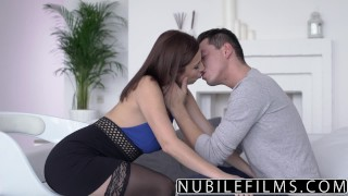 Preview 2 of NubileFilms - Big Tit Step Sis Wants My Cock