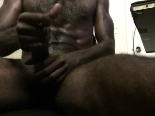 First oily masturbation video