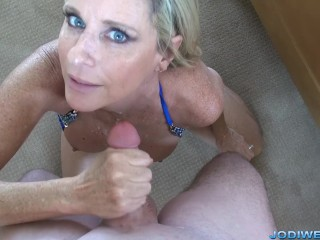 Jodi West HandJob