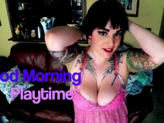 BBW Morning finger fucking for you Gaberiella.manyvids.com