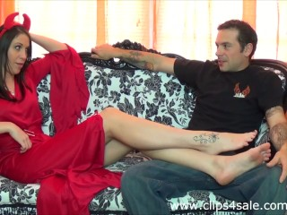 Demon Mistress Foot Worship