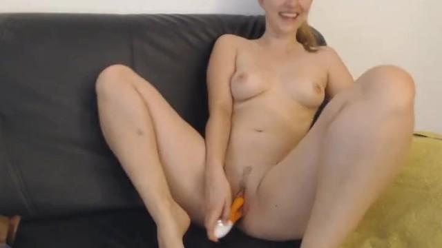 Pretty British Babe Squirting After Masturbating 19