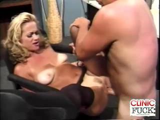 Intense Clinic Fucking Orgasm