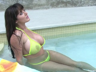 micro bikini photo shoot video
