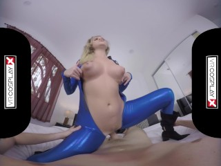 VR Cosplay X Your GF Alexis Adams Is Super Susan Storm VR Porn