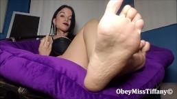 Stop begging foot slave